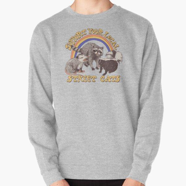 Street Cats Pullover Sweatshirt
