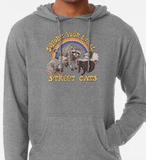 Sudadera con capucha ligera Gatos de la calle