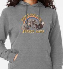 Straßenkatzen Leichter Hoodie