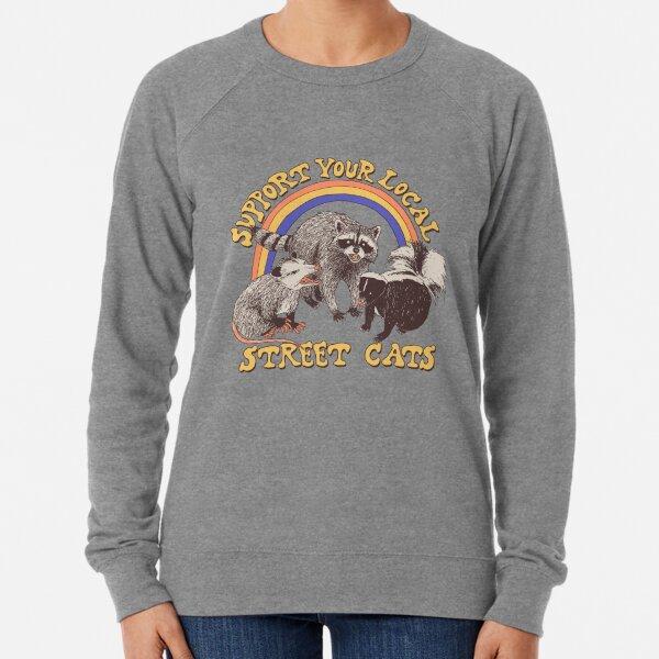Straßenkatzen Leichter Pullover
