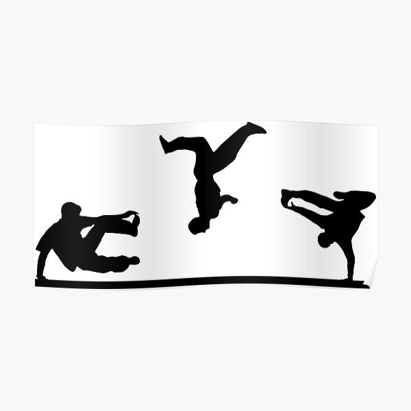 Free Running, Parkour Poster