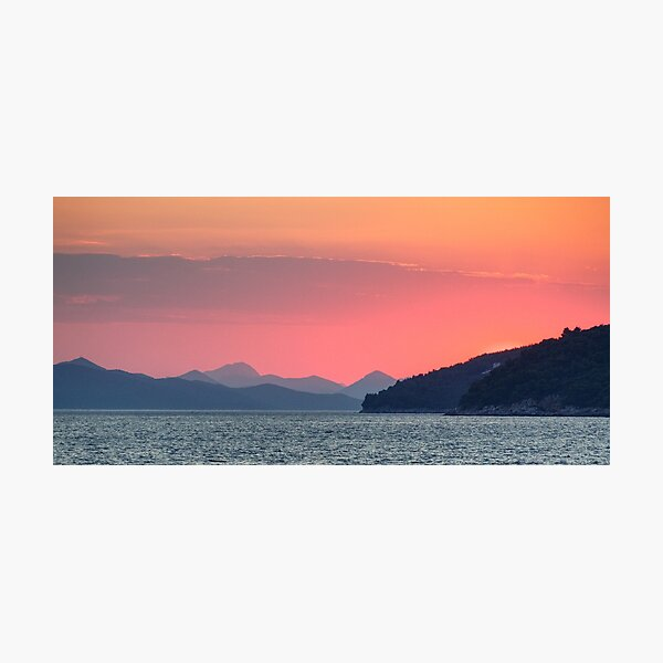 Delicate shades of pink Photographic Print
