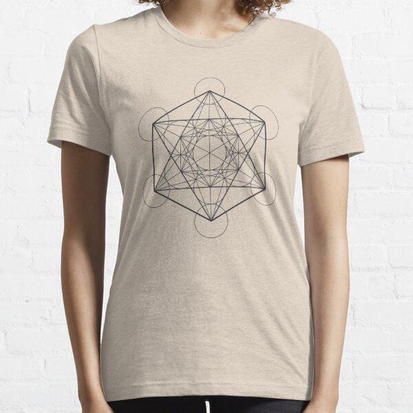 Metatron's Cube (light background) Essential T-Shirt