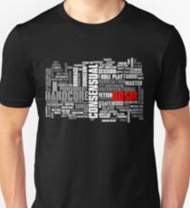 BDSM words cloud Unisex T-Shirt