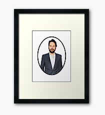 The Dignified Rudd Shirt Framed Print