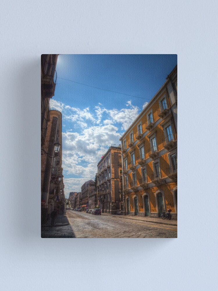 Alternate view of Via di Sangiuliano, Catania Canvas Print