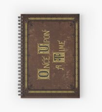 Once Upon a Time Merchandise Spiral Notebook
