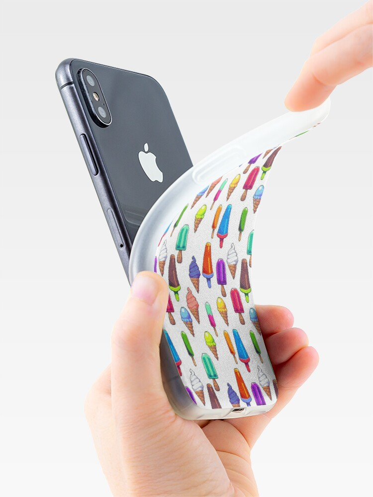 Alternate view of Popsicles! iPhone Case & Cover
