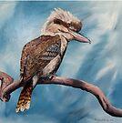 Australian Laughing Kookaburra by Meaghan Roberts