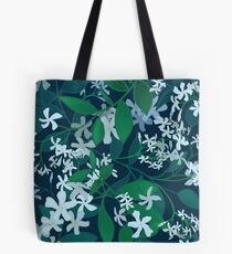 Star Jasmine at Night Tote Bag