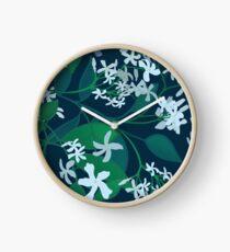Star Jasmine at Night Clock