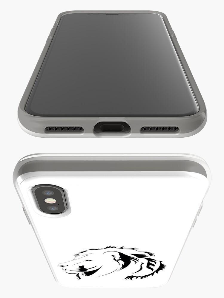 Alternative Ansicht von Lionhead Tribales iPhone-Hüllen & Cover