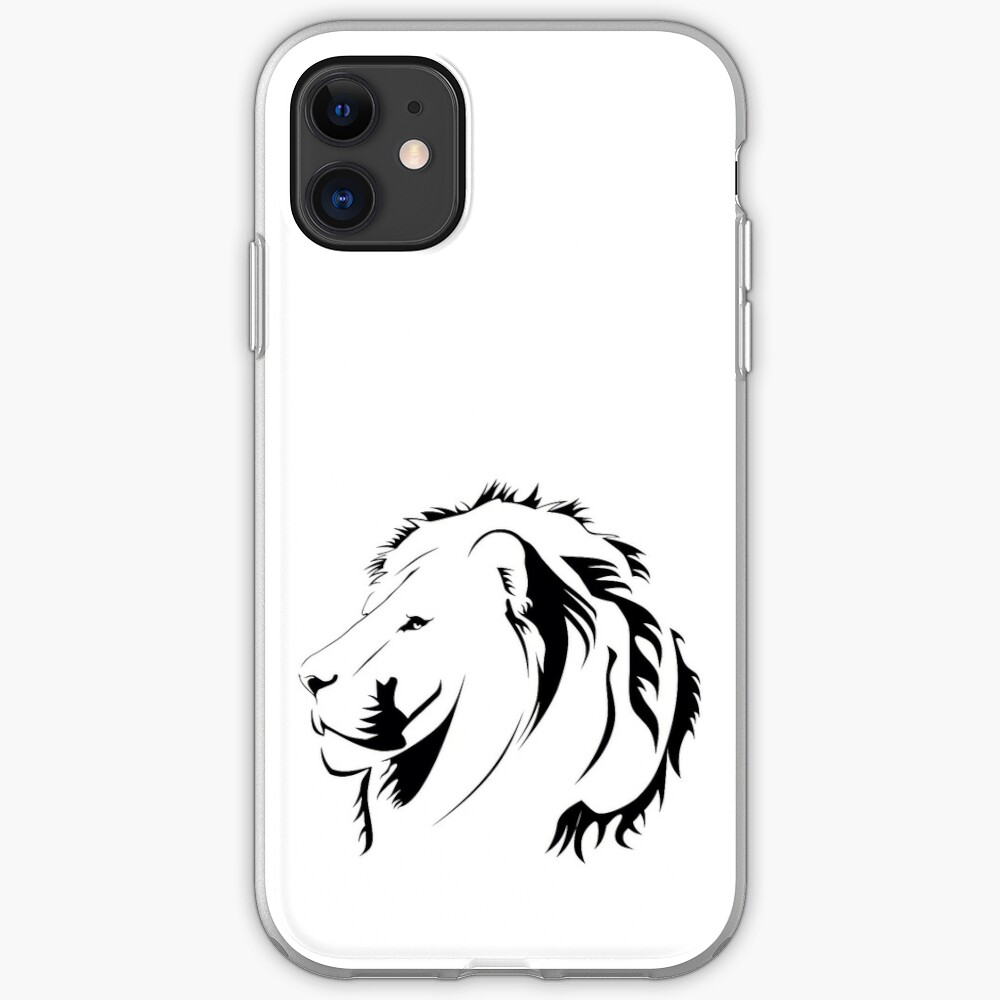 Lionhead Tribales iPhone-Hülle & Cover