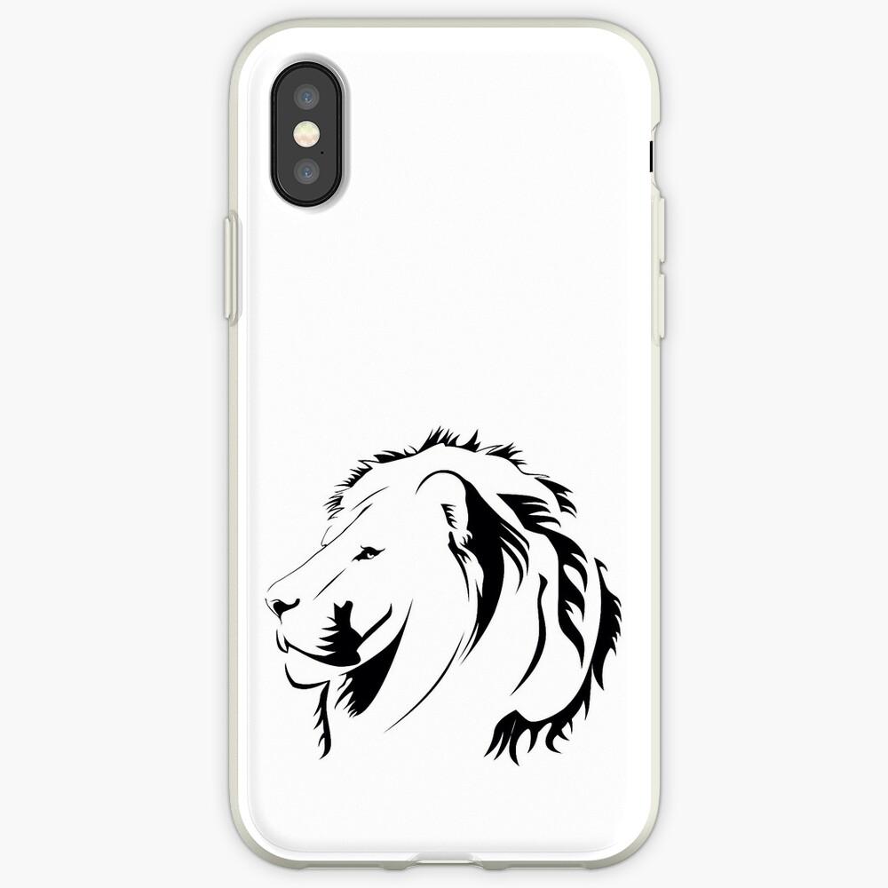Lionhead Tribales iPhone-Hüllen & Cover