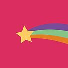 Daily Mable Sweater Rainbow Shooting Star by Annika Leistikow