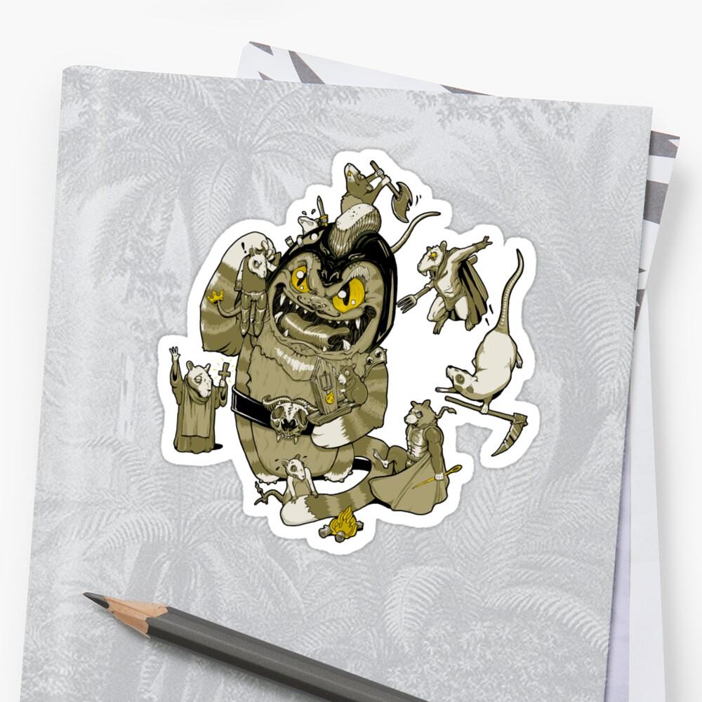 Rat Rebellion by jimiyo
