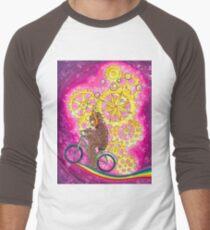 Rainbow Ride Men's Baseball ¾ T-Shirt