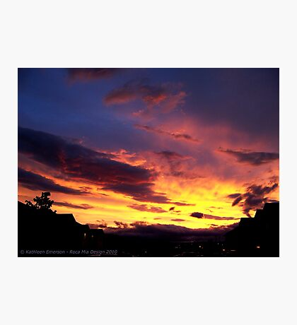 Kalispell Sunset - North Photographic Print