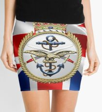 British Armed Forces Emblem 3D Mini Skirt