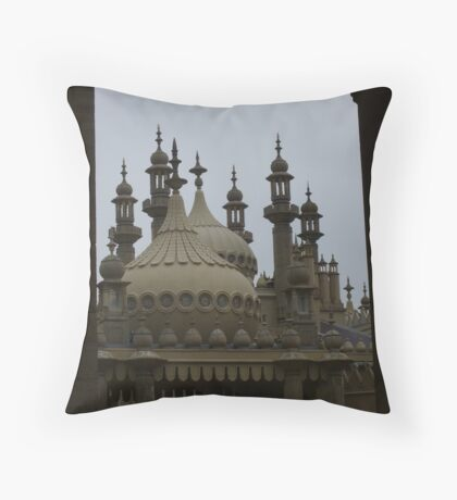 spires Throw Pillow
