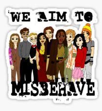 Magically Misbehaved Sticker