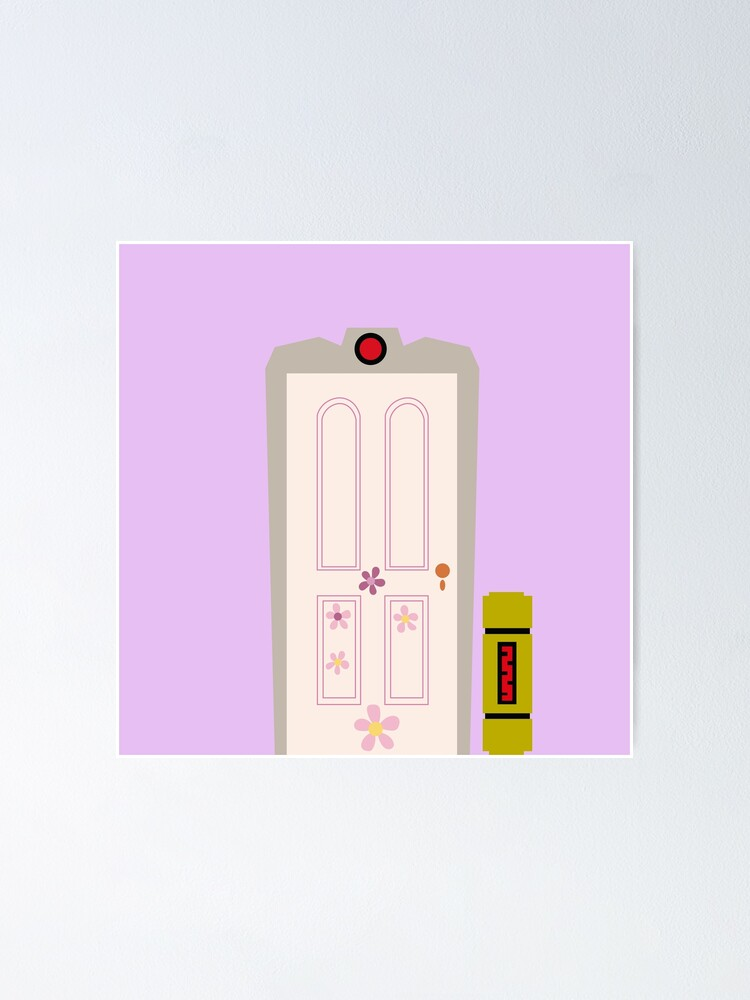 Monsters Inc Door Boo Poster By Chatot Redbubble