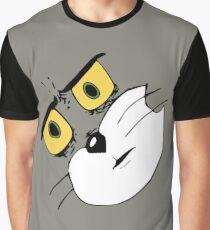 Unsettled Tom Face Graphic T-Shirt