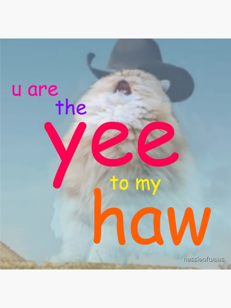 the yee to my haw by nessieofwaas