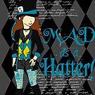 She's Mad, Mad, Mad - Sticker Edition by kayeskew