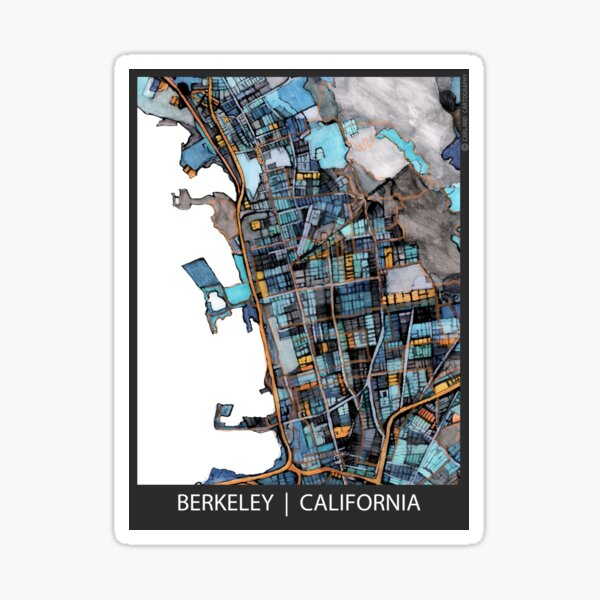 Berkeley, CA Sticker