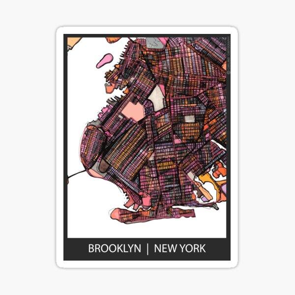 Brooklyn, NY Sticker