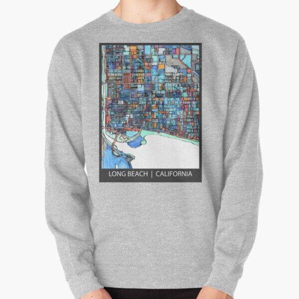 Long Beach, CA Pullover Sweatshirt