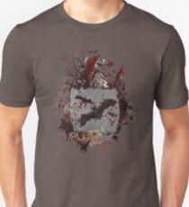 Vampire Bats - Blood Spatters - Grunge Design Unisex T-Shirt