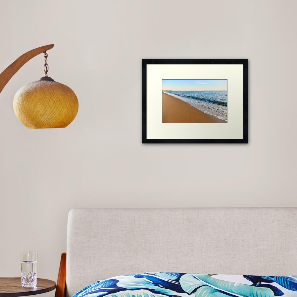 Plum Island Shore Framed Art Print