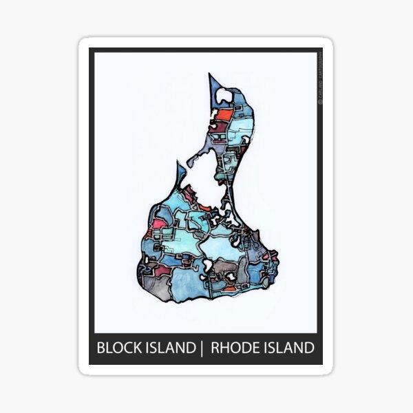 Block Island, RI Sticker