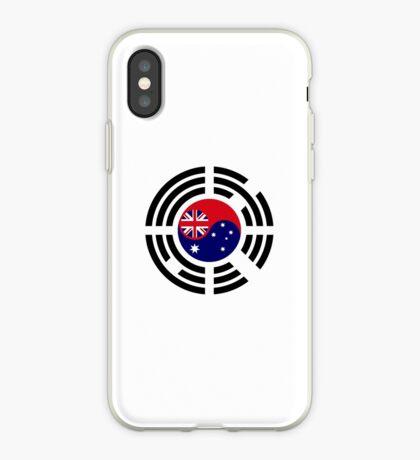 Korean Australian Multinational Patriot Flag Series iPhone Case