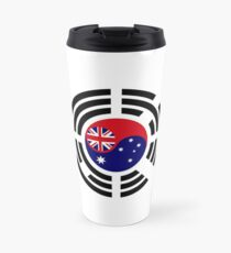 Korean Australian Multinational Patriot Flag Series Travel Mug