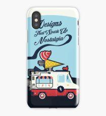 Nuance Retro: Ice Cream Truck Time Machine   iPhone Case/Skin