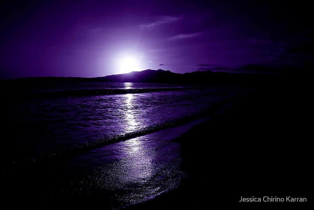 indigo sunset - Mexico by Jessica Karran