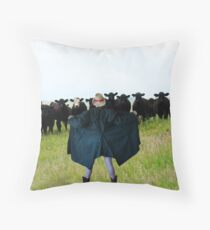 Don't Look Ethel !! Throw Pillow