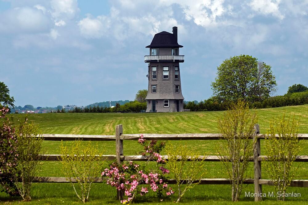 A Unique Lighthouse  by Monica M. Scanlan
