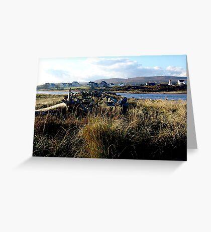 Morning,Margaree Harbour Greeting Card