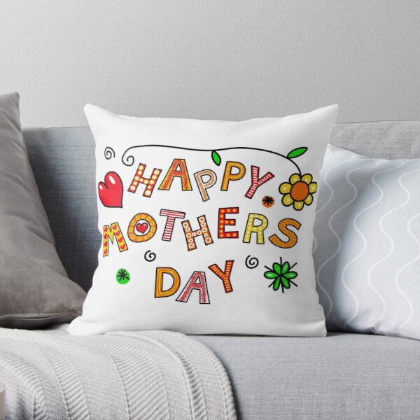 Happy Mother's Day Throw Pillow