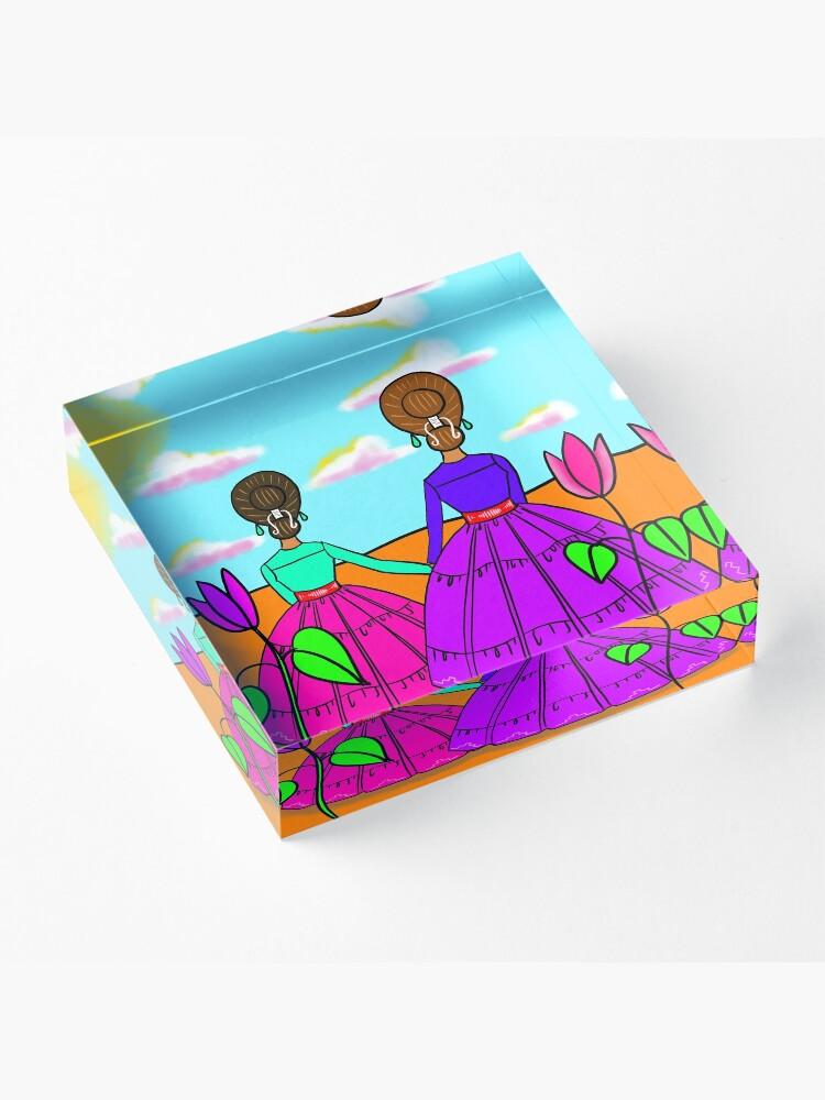 Alternate view of Momma Acrylic Block
