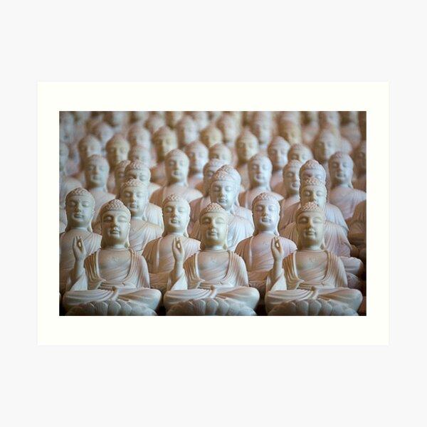 10,000 Buddhas Art Print