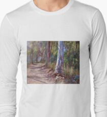 'Winding Back No. 2'  Long Sleeve T-Shirt