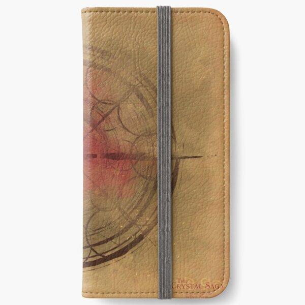 The Crystal Saga Rose Mandala iPhone Wallet