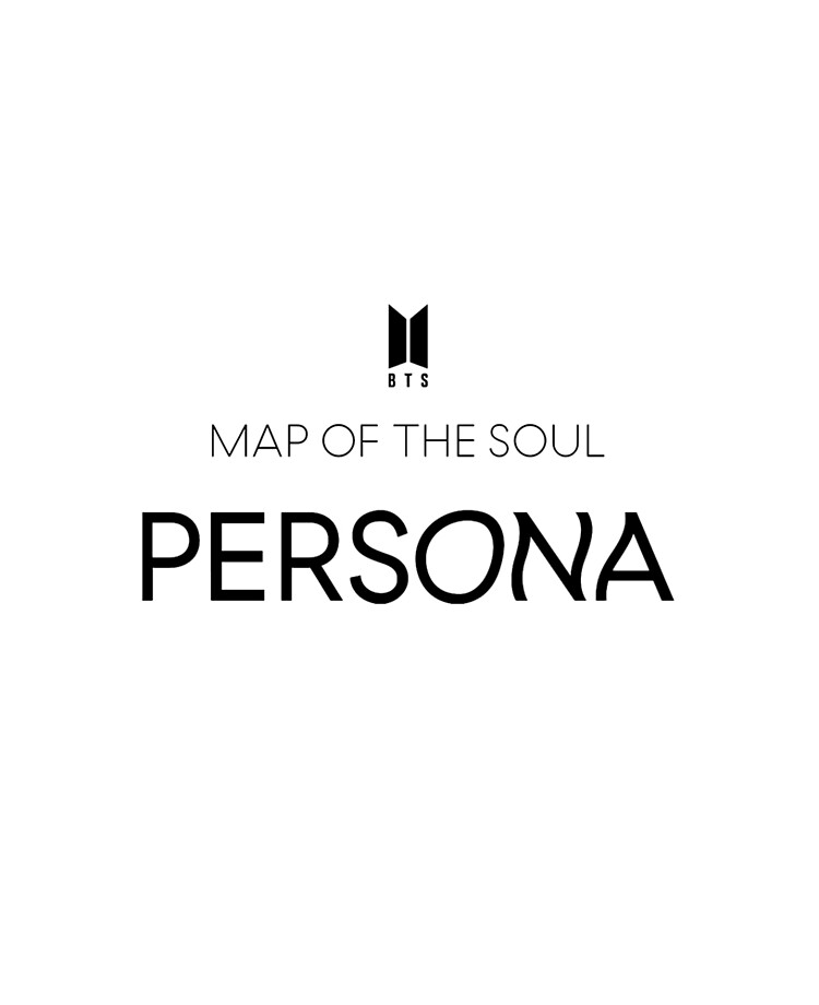 bts map of the soul persona logo album ipad case skin by