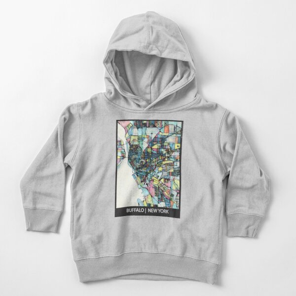 Buffalo, NY Toddler Pullover Hoodie
