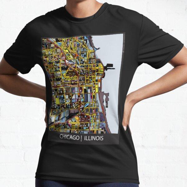 Chicago, IL Active T-Shirt